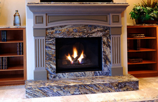 fireplace and bar installation in Carroll, IA
